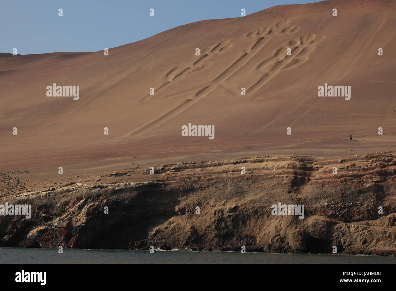 incas paracas kandelaber Stock Photo