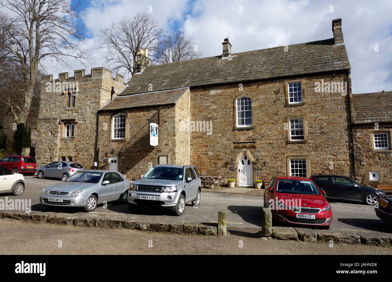 The Lord Crewe Arms, Blanchland - Stock Image