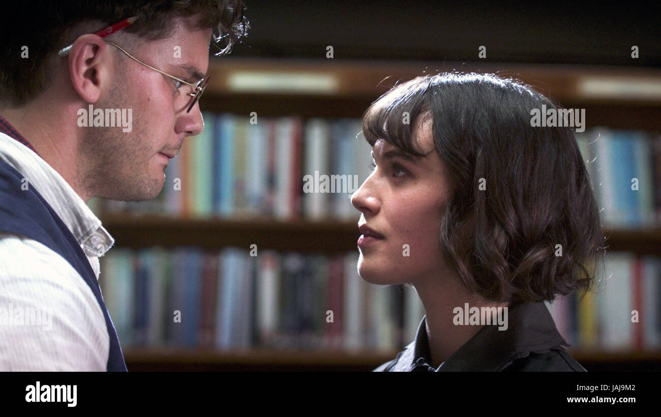 This Beautiful Fantastic is a 2016 British romantic drama film directed and written by Simon Aboud. The film stars - Stock Image