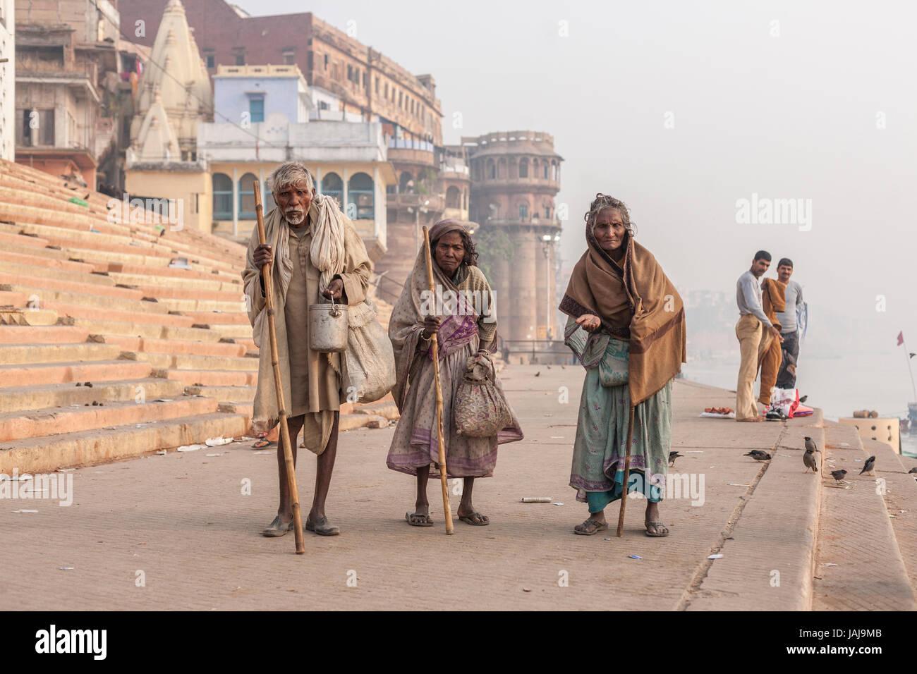 Varanasi, Uttar Pradesh, India, Asia - Stock Image