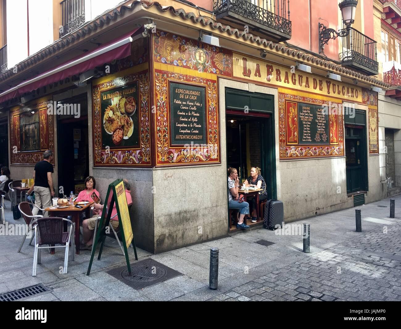 Madrid, Spain - Stock Image