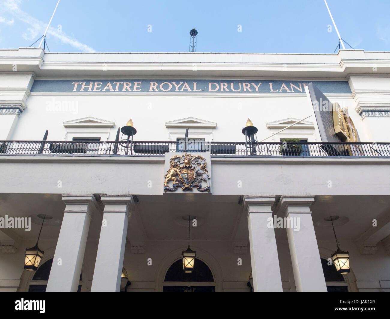 Theatre Royal, Drury Lane, London, UK - Stock Image