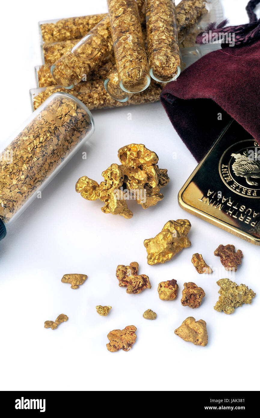 Raw Gold Nugget Stock Photos & Raw Gold Nugget Stock Images