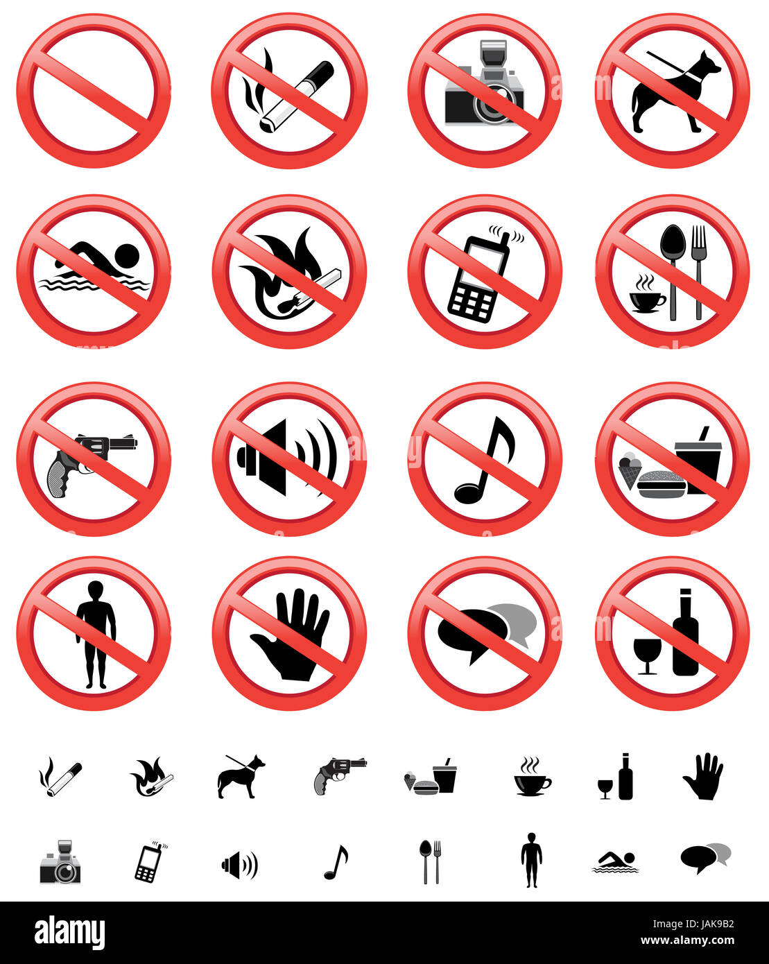 graphic relating to Printable Versions titled The range of forbidden signs or symptoms, with few printable