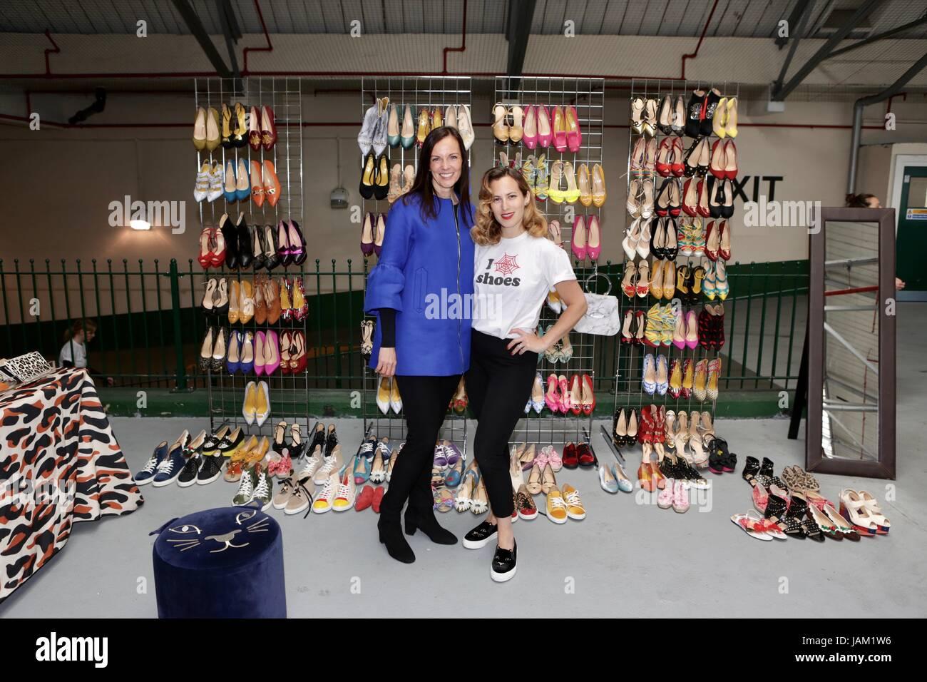 #SheinspiresMe Fashion Car Boot in support of Women for Women International  Featuring: Brita Fernandez Schmidt, - Stock Image