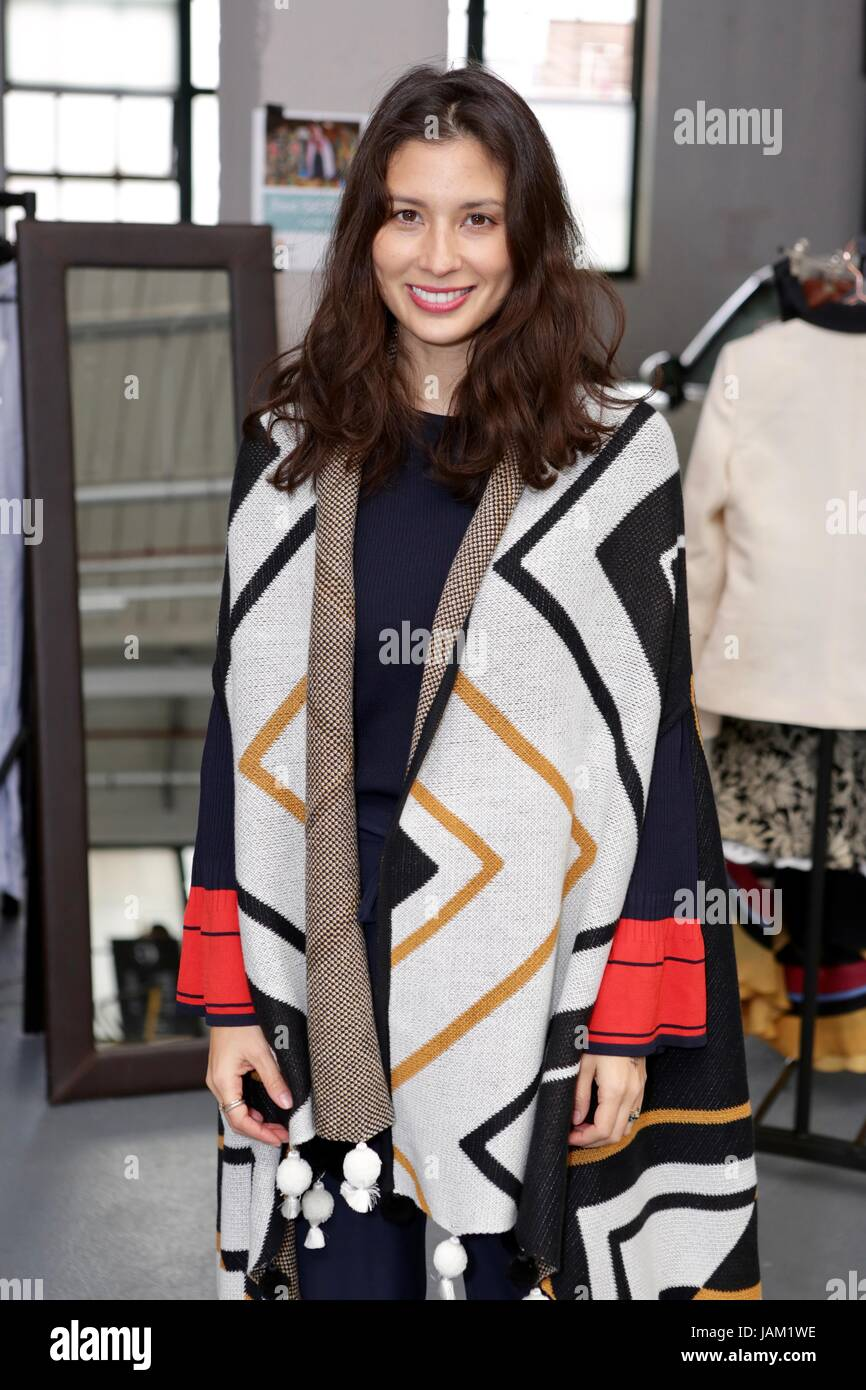 #SheinspiresMe Fashion Car Boot in support of Women for Women International  Featuring: Jasmine Hemsley Where: London, Stock Photo