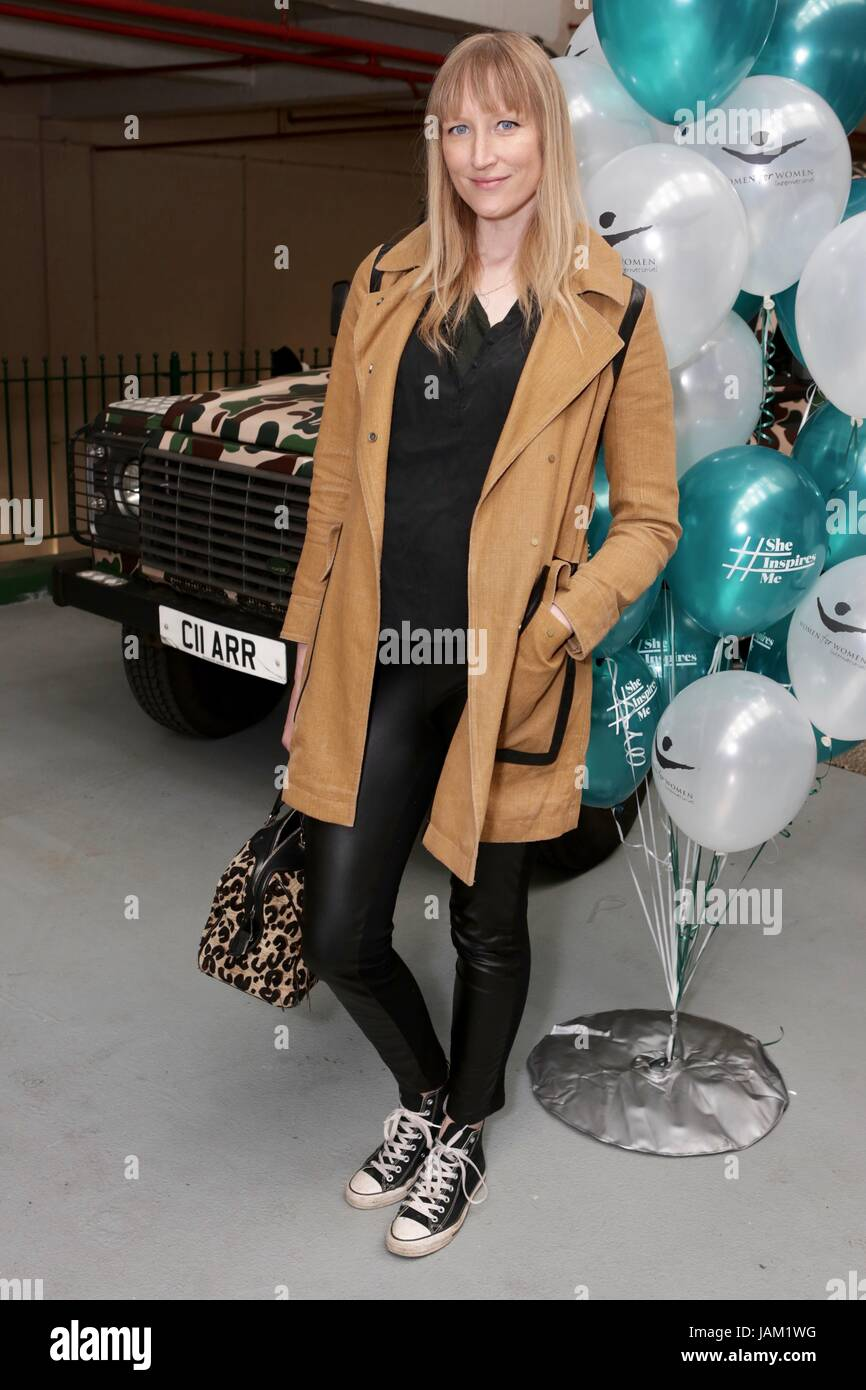 #SheinspiresMe Fashion Car Boot in support of Women for Women International  Featuring: Jade Parfitt Where: London, - Stock Image
