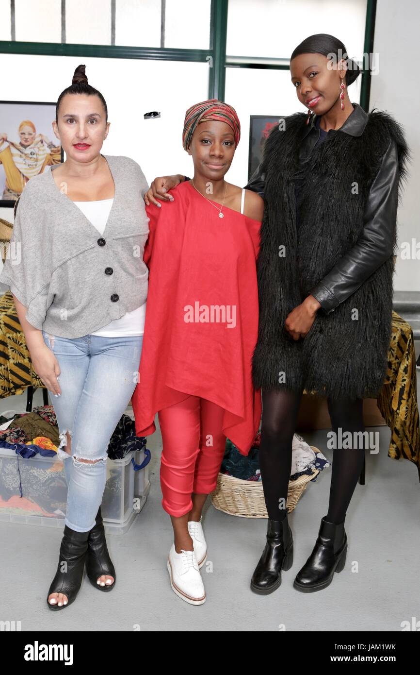 #SheinspiresMe Fashion Car Boot in support of Women for Women International  Featuring: Samata Pattinson, Guests - Stock Image