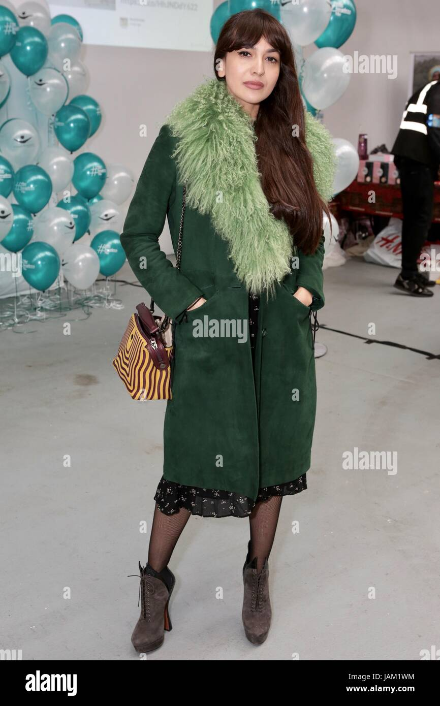 #SheinspiresMe Fashion Car Boot in support of Women for Women International  Featuring: Zara Martin Where: London, - Stock Image