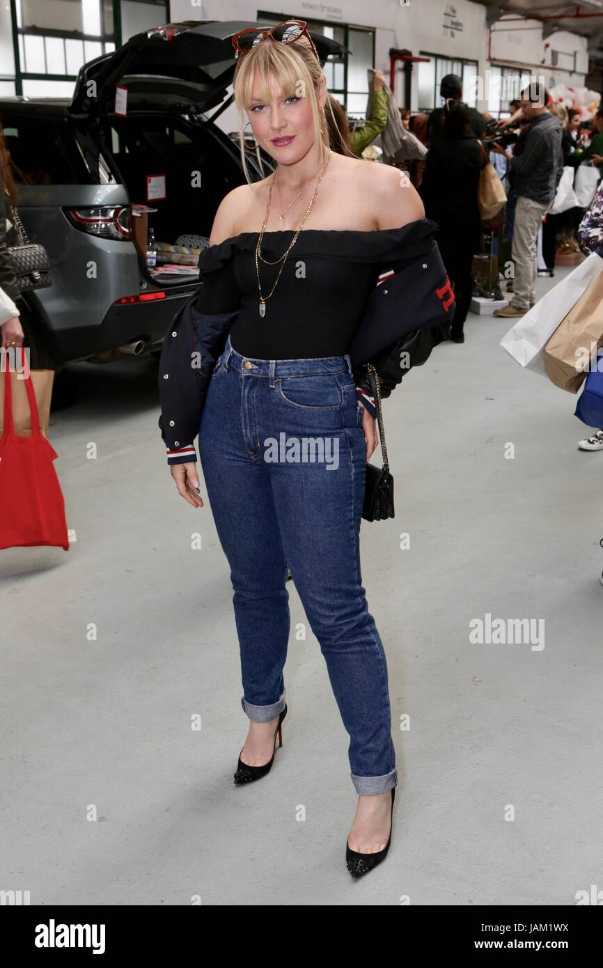 #SheinspiresMe Fashion Car Boot in support of Women for Women International  Featuring: Camilla Kerslake Where: - Stock Image