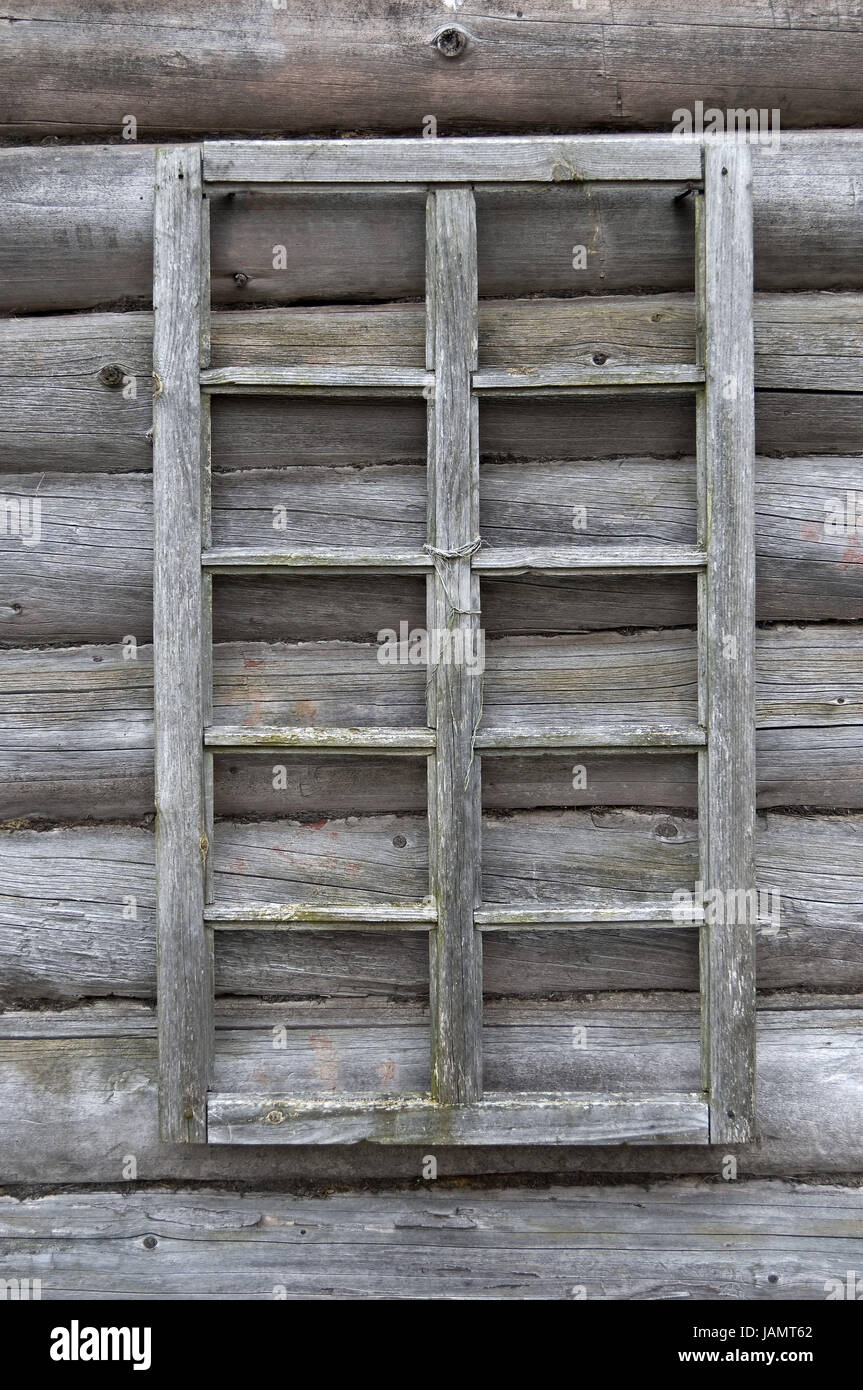 Wooden Wall Old Window Frames Detail Stock Photo 144287530 Alamy
