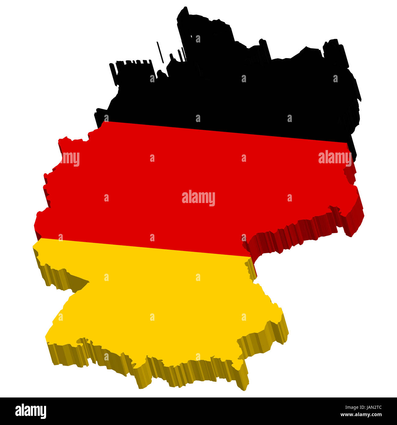 deep black euro - Stock Image