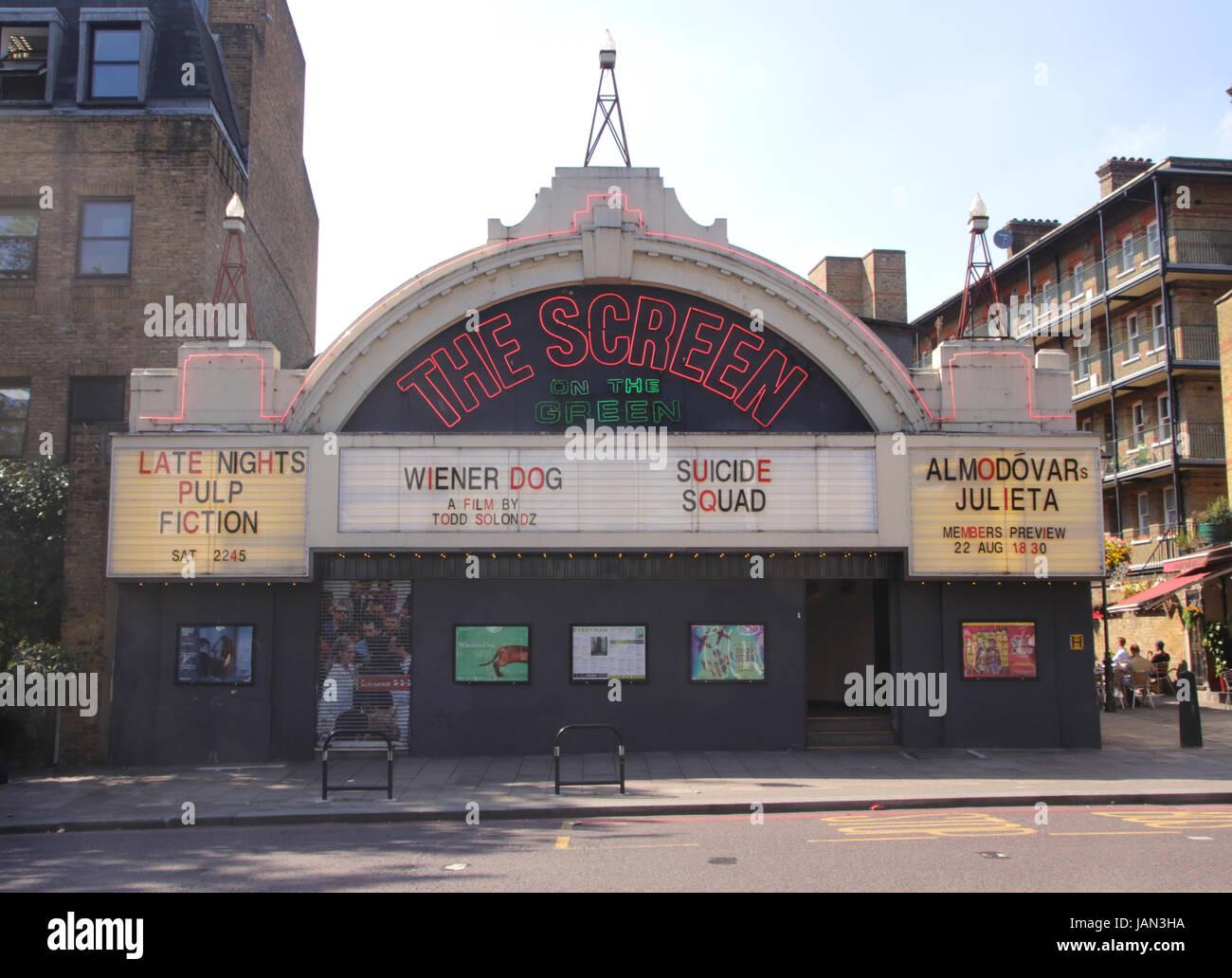 The Screen on the Green Cinema Upper Street Islington London Stock Photo