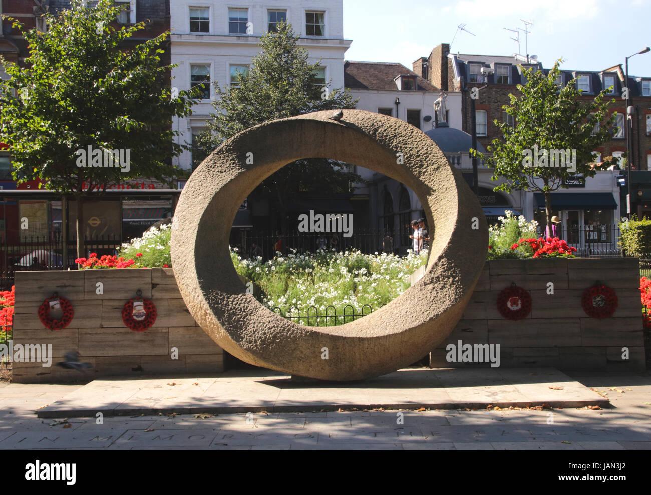 War Memorial Islington Green London Stock Photo