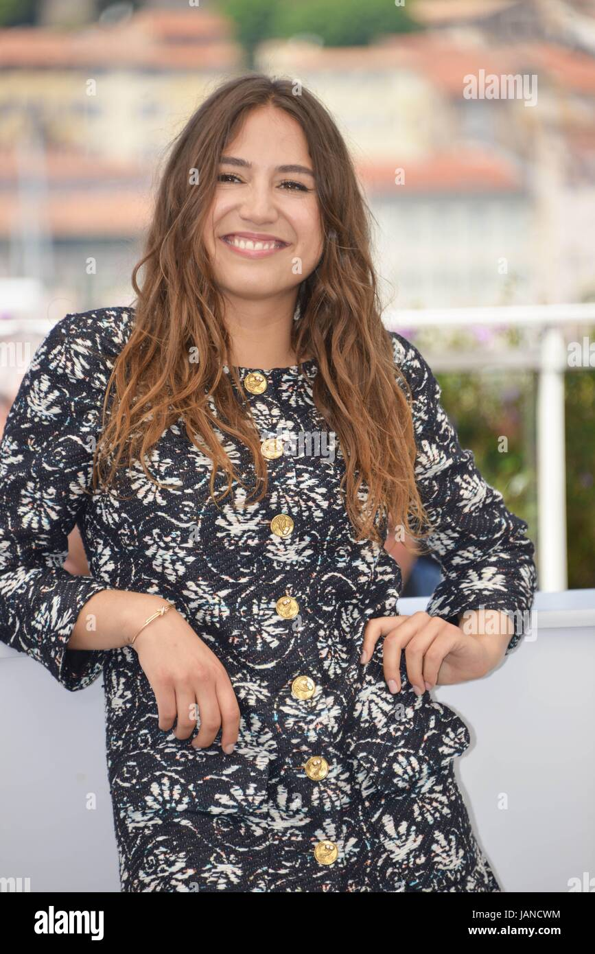 Izia Higelin Photocall Of The Film Rodin 70th Cannes Film Stock