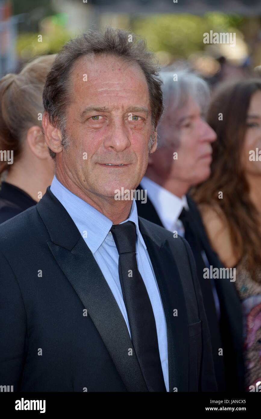 Vincent Lindon Arriving On The Red Carpet For The Film Rodin 70th