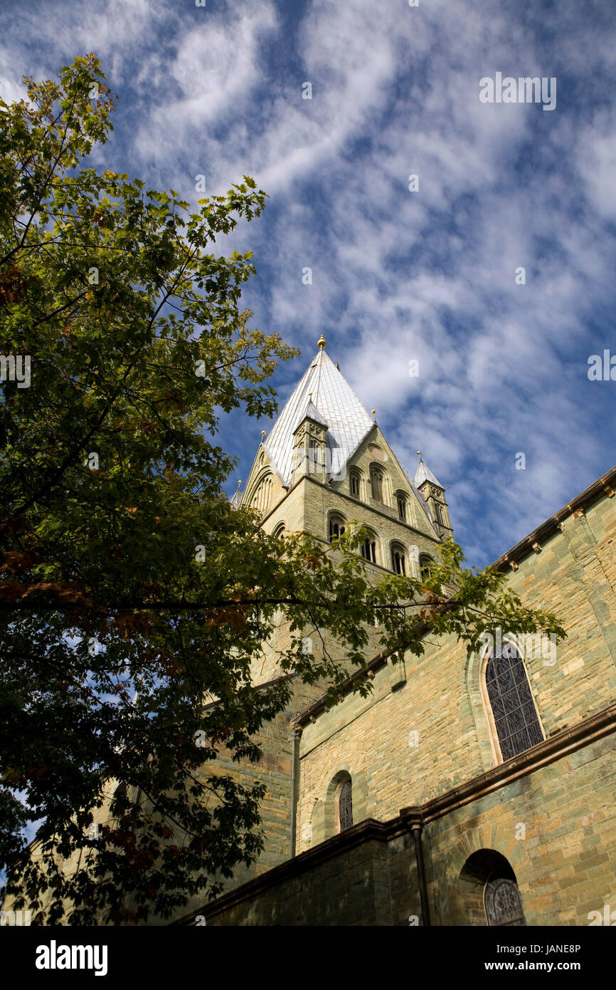 St.-Patrokli-Dom, Nordrhein-Westfalen, Deutschland, Soest Stock Photo
