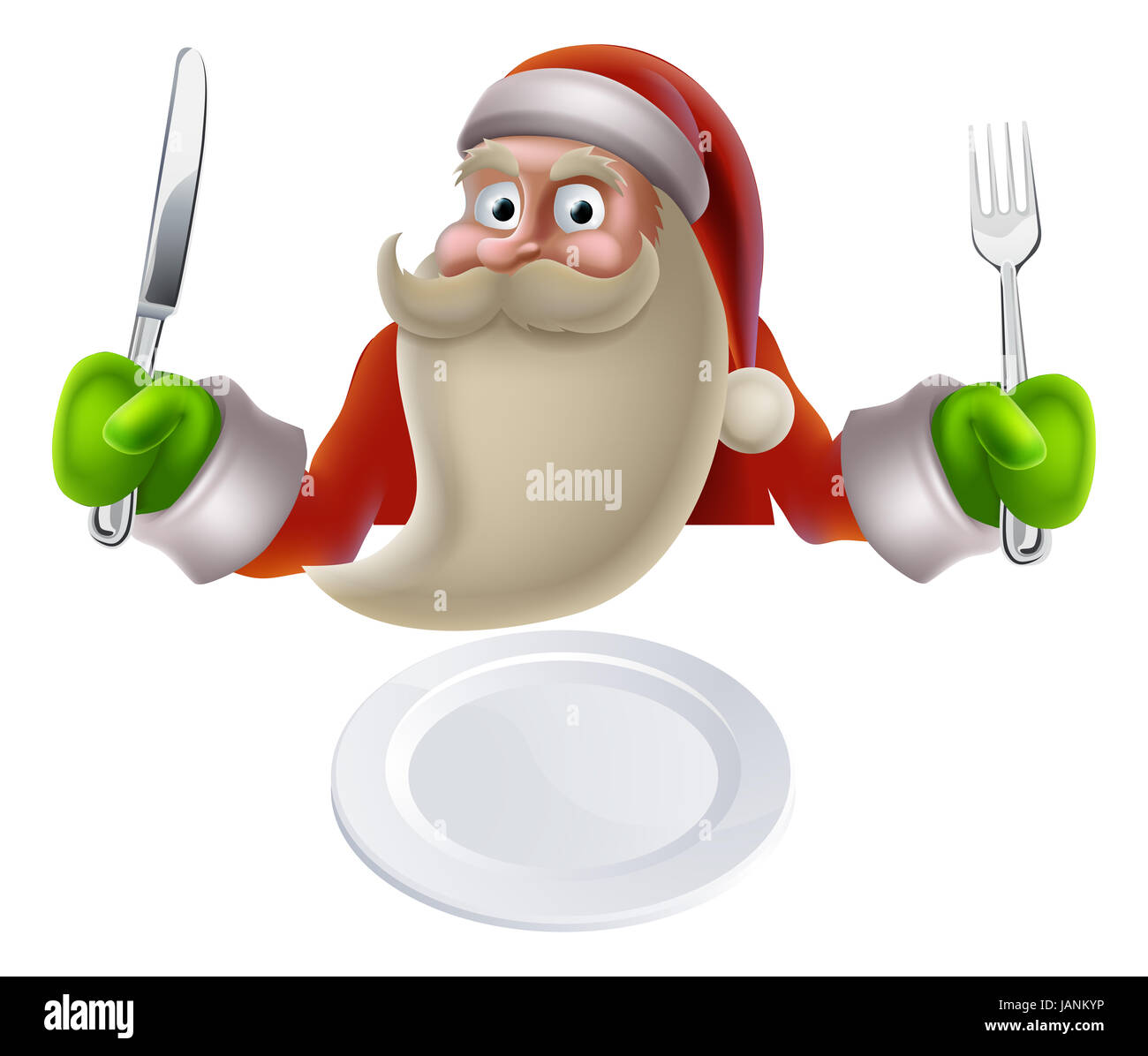 santa eating christmas dinner  cartoon santa sat down with lunch tray clipart free lunch tray clipart free