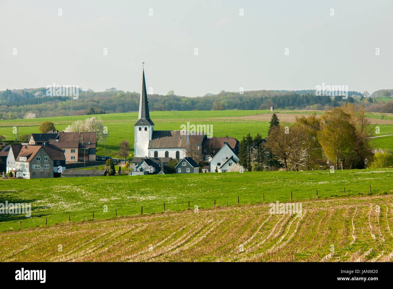 Deutschland, Oberbergischer Kreis, Radevormwald-Remlingrade - Stock Image