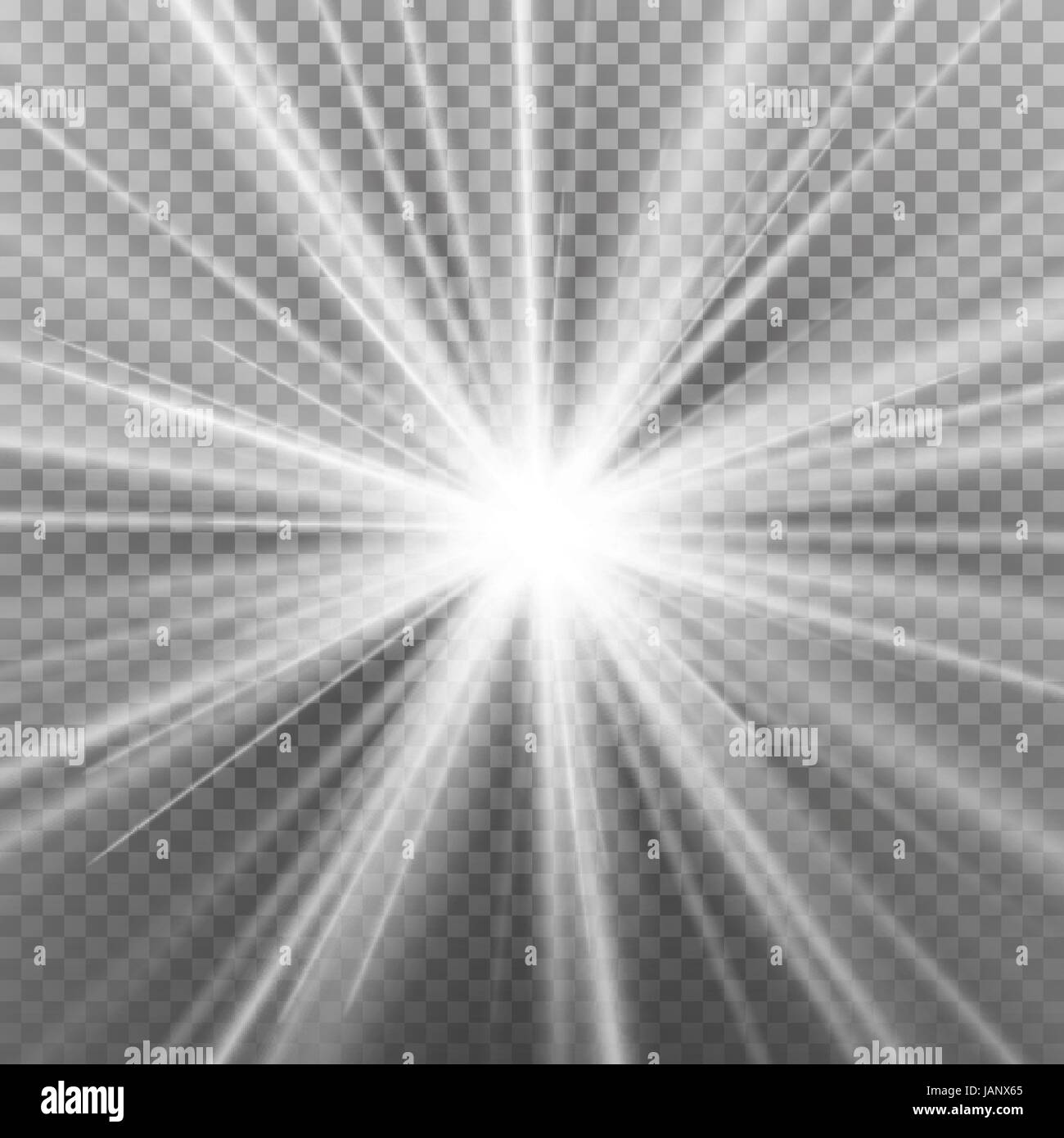 Transparent Light Rays
