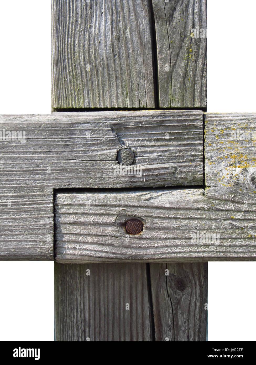 Holzverbindung Stock Photo