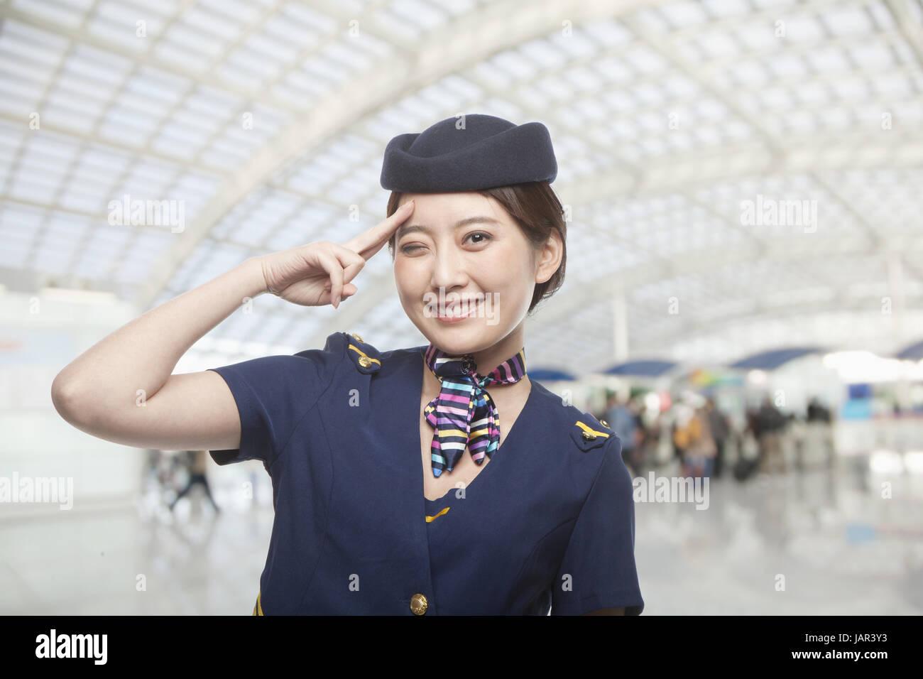 smiles travel - Stock Image