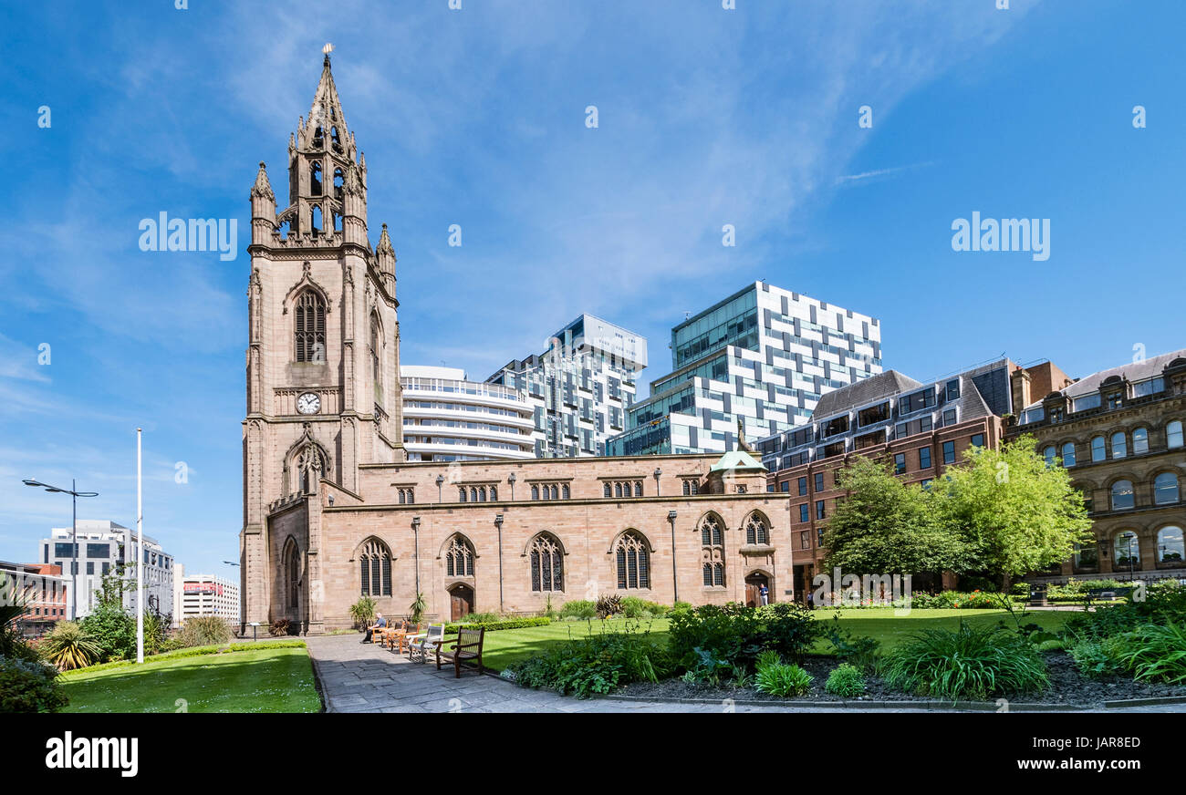 Liverpool Parish  Church of Our Lady and Saint Nicholas, St Nick's or The Sailors' Church - Stock Image