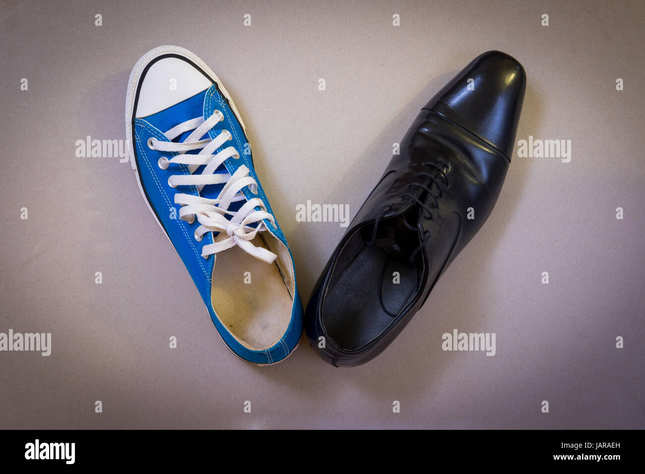Corporate and casual - Stock Image