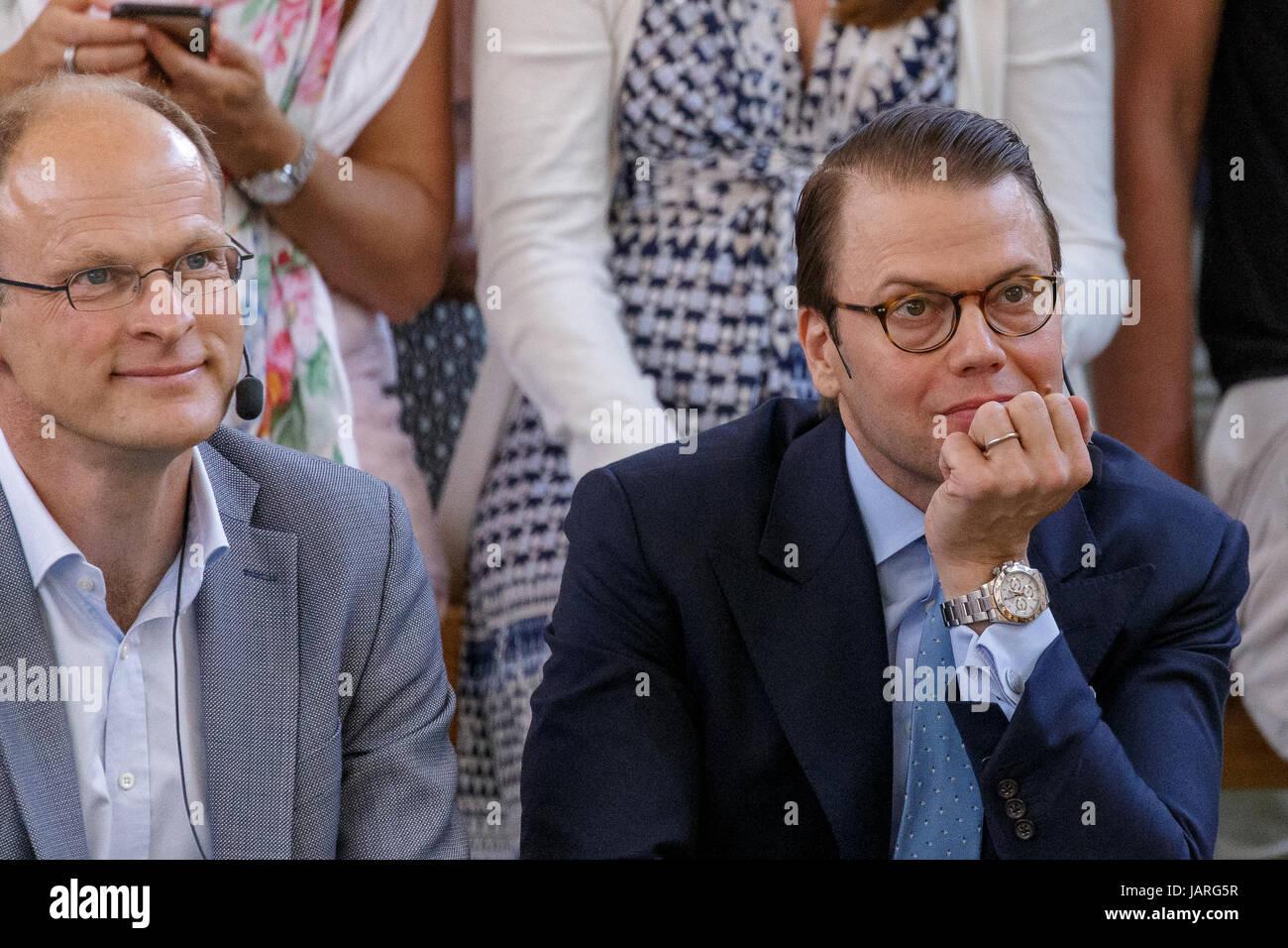 VISBY, SVERIGE - 4 JULI 2016 :  Göran Bergström, Professor, Sahlgrenska Universitetssjukhuset och Prins - Stock Image