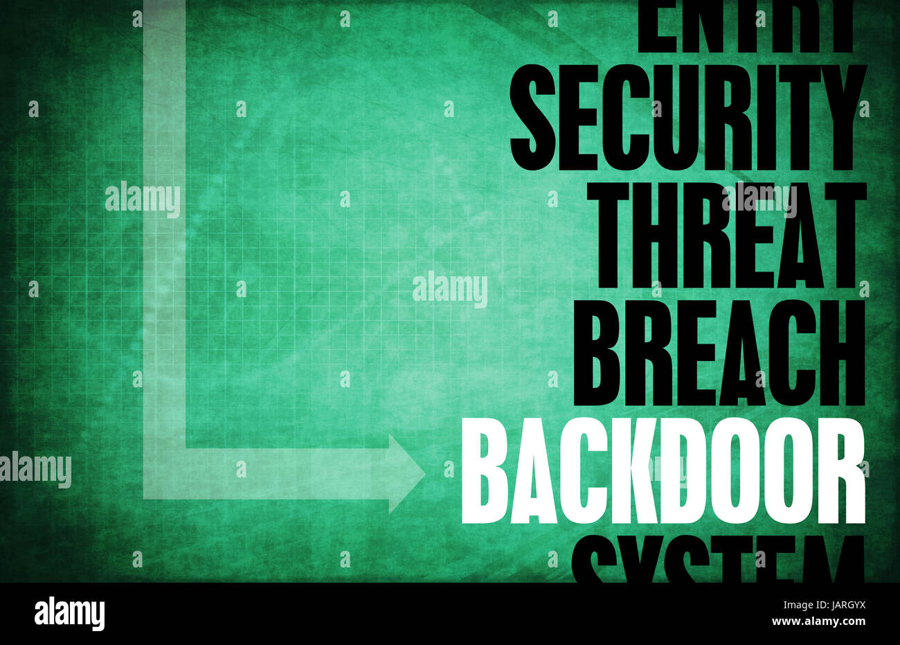 Backdoor Entry Computer Security Threat And Protection Stock ...