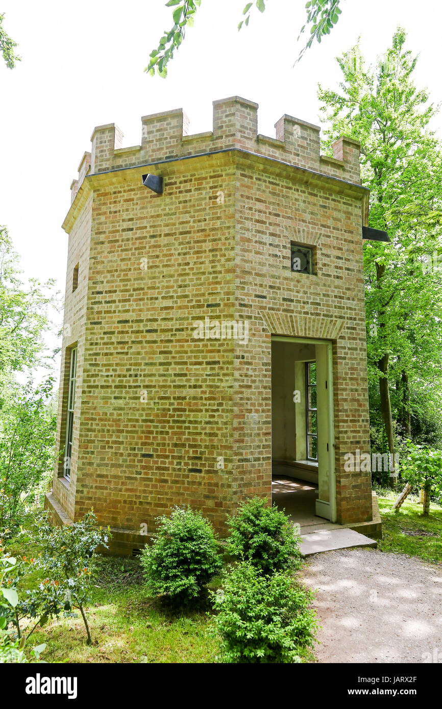 The Octagon Summerhouse at Hestercombe House and Gardens West Monkton Cheddon Fitzpaine near Taunton in Somerset, - Stock Image