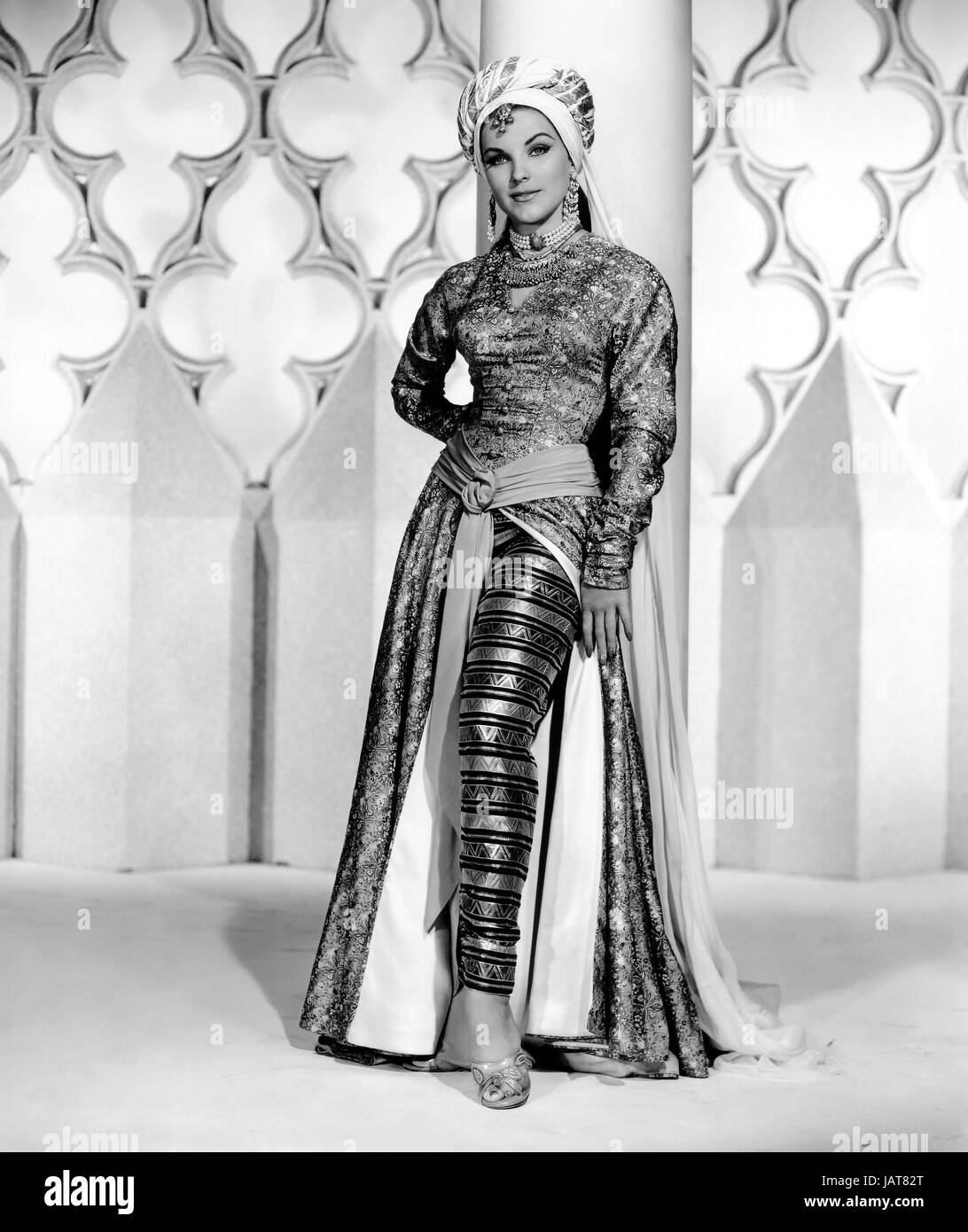 OMAR KHAYYAM 1957 Paramout Pictures film with Debra Paget - Stock Image