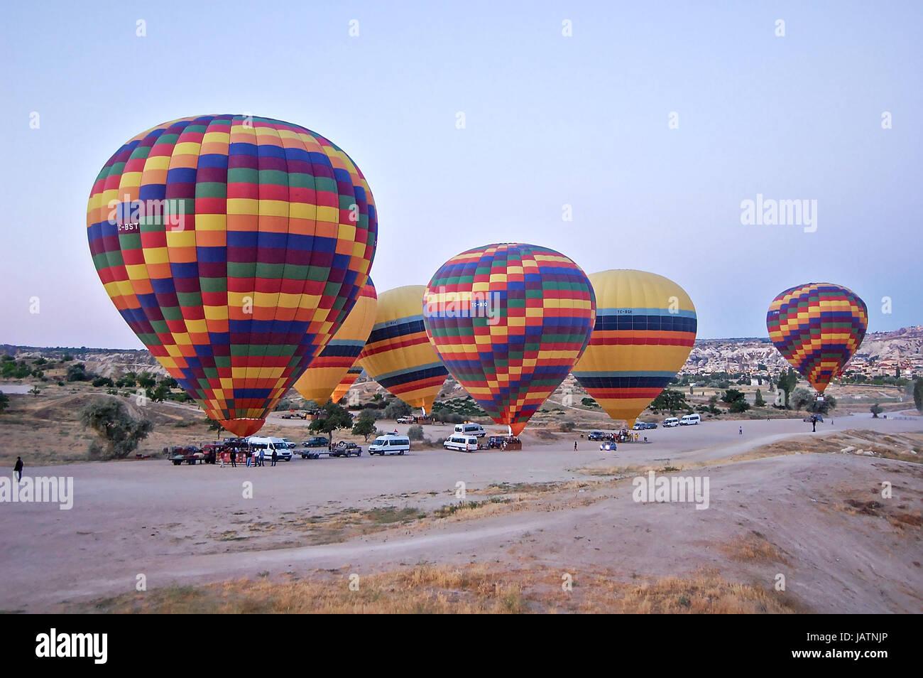 Image taken in Goreme, Capadoccia, Turkey, year 2012 - Stock Image