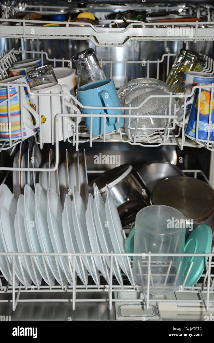 Geschirrspulmaschine Spulmaschine Spulen Kuche Geschirrspuler