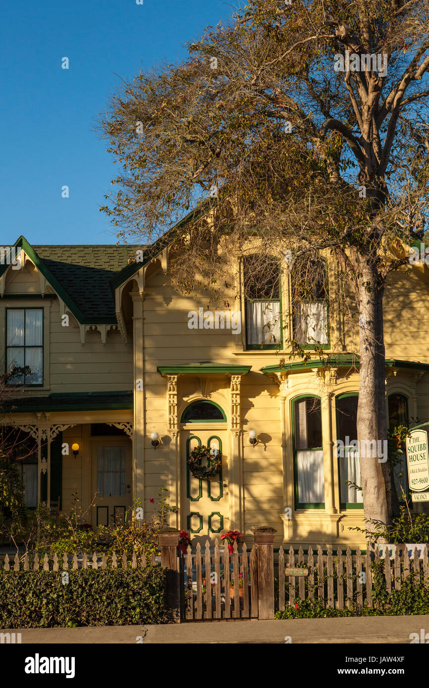 Squibb House A Bed And Breakfast Cambria California Stock