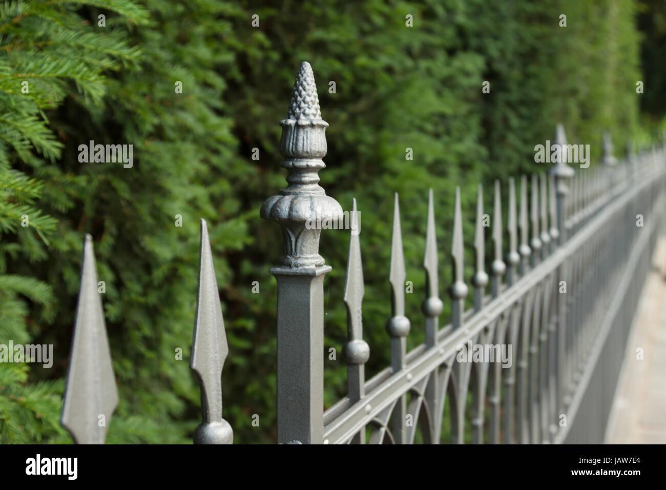 Zaun Details Stock Photos Zaun Details Stock Images Alamy