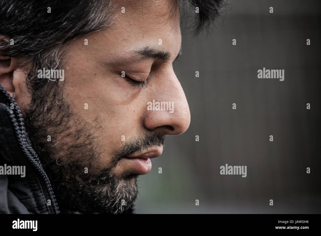 Shrien Dewani arrives at Belmarsh Magistrates Court in London, UK. - Stock Image