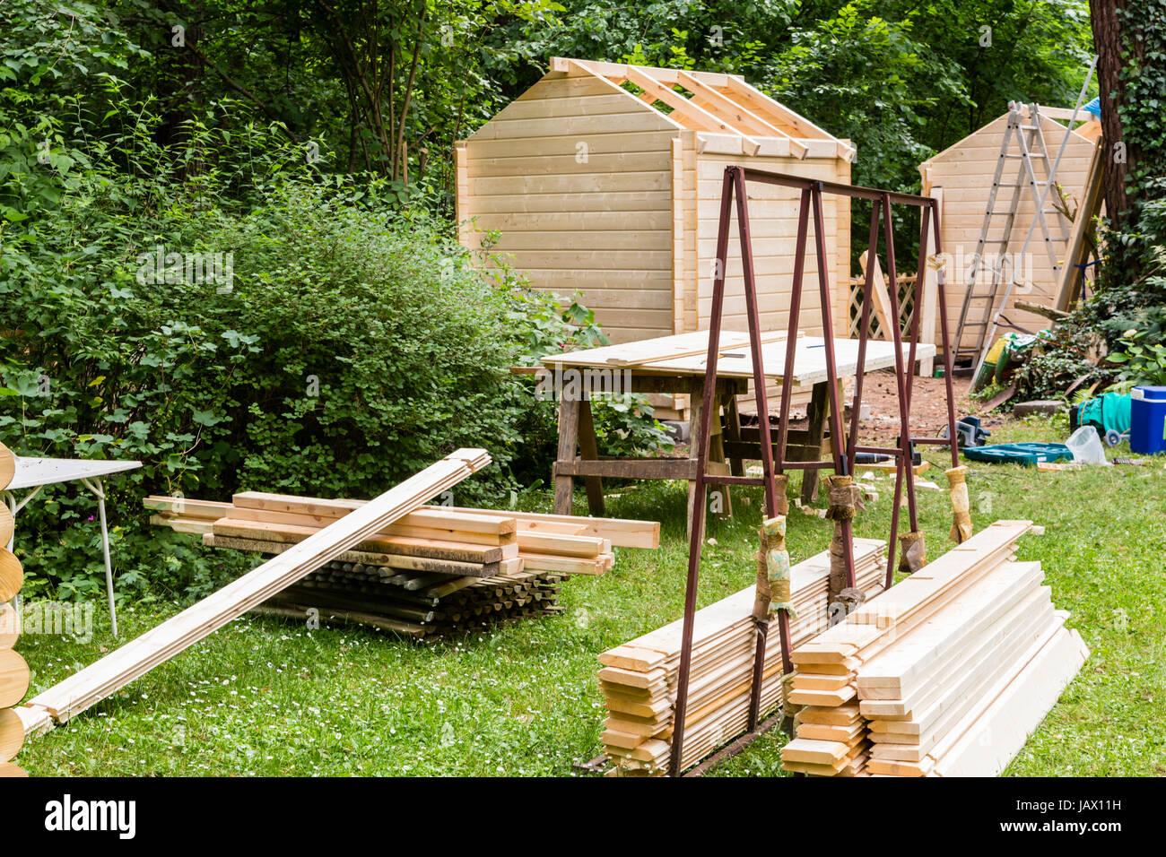 Schuppen Garten Werkzeug Stock Photos Schuppen Garten Werkzeug