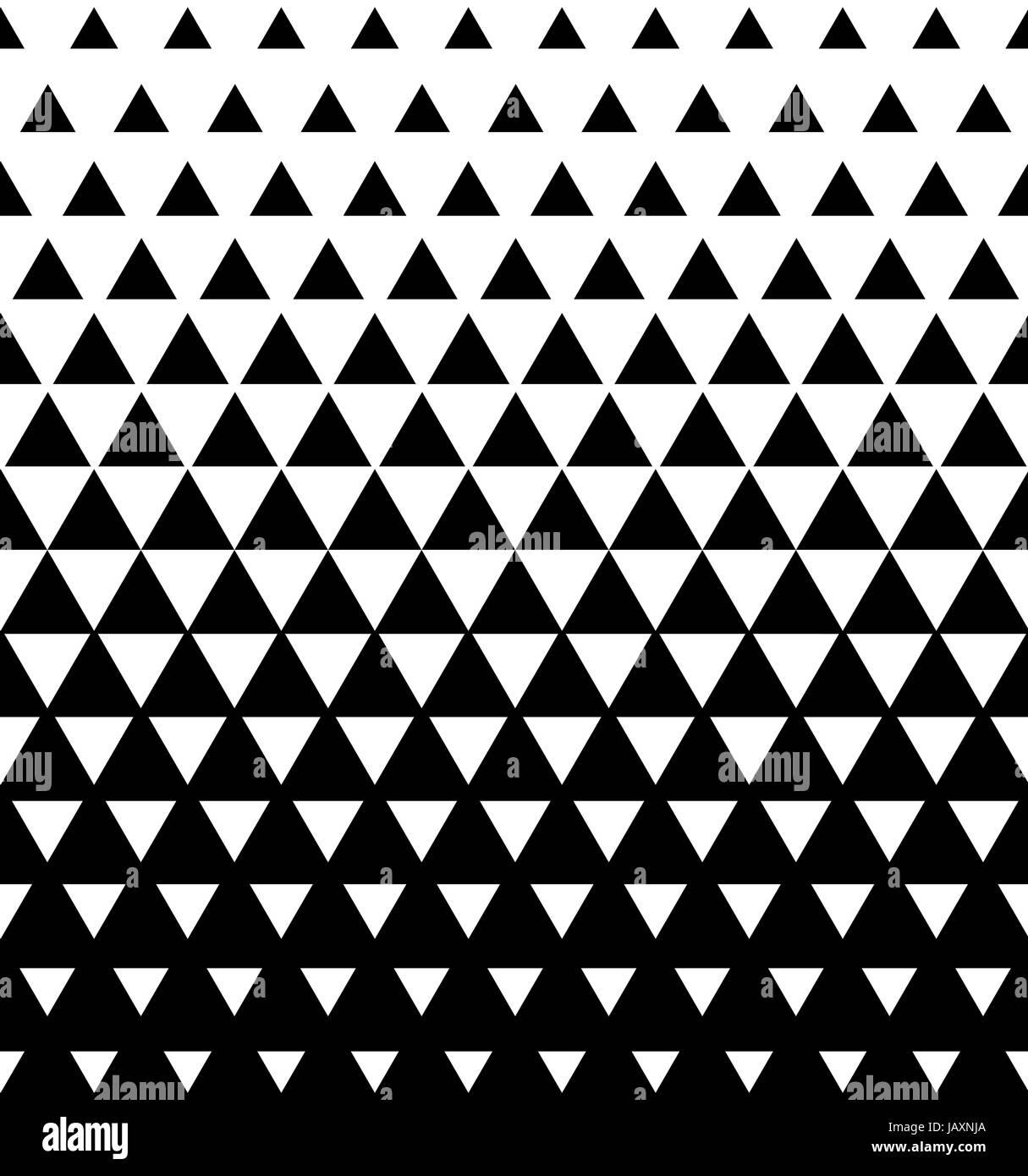 Halftone Triangular Pattern Vector Abstract Transition Triangular
