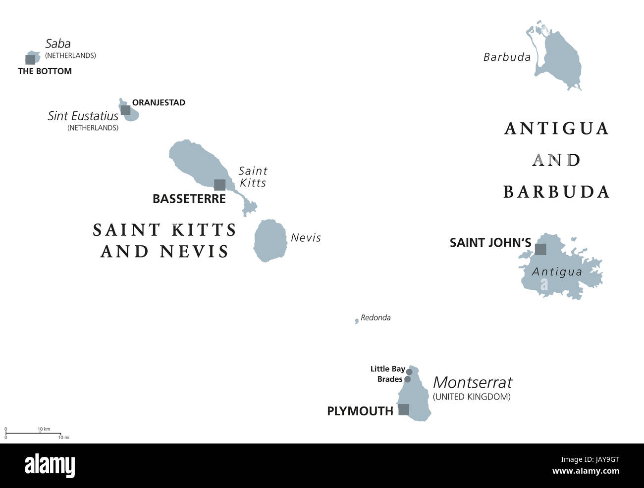 Saint Kitts And Nevis, Antigua And Barbuda, Montserrat, Saba ... on in texas map, in asia map, in mexico map, in sweden map, in france map, in georgia map, in germany map, in china map, in usa map, in latin america map,