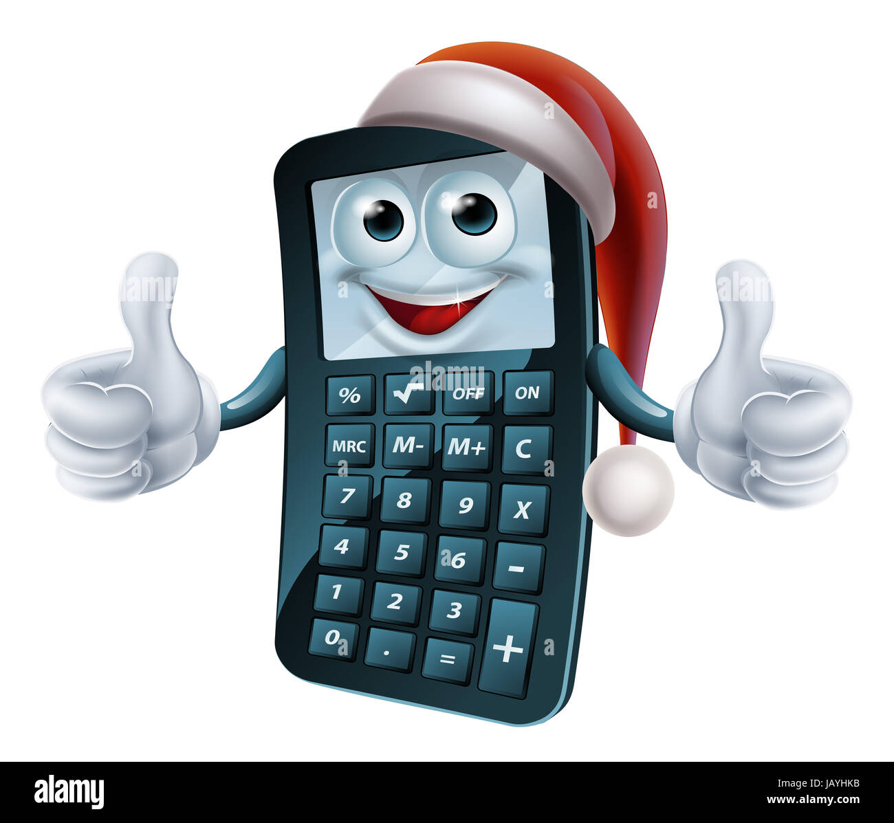 Cartoon Calculator Math School Stock Photos & Cartoon Calculator ...