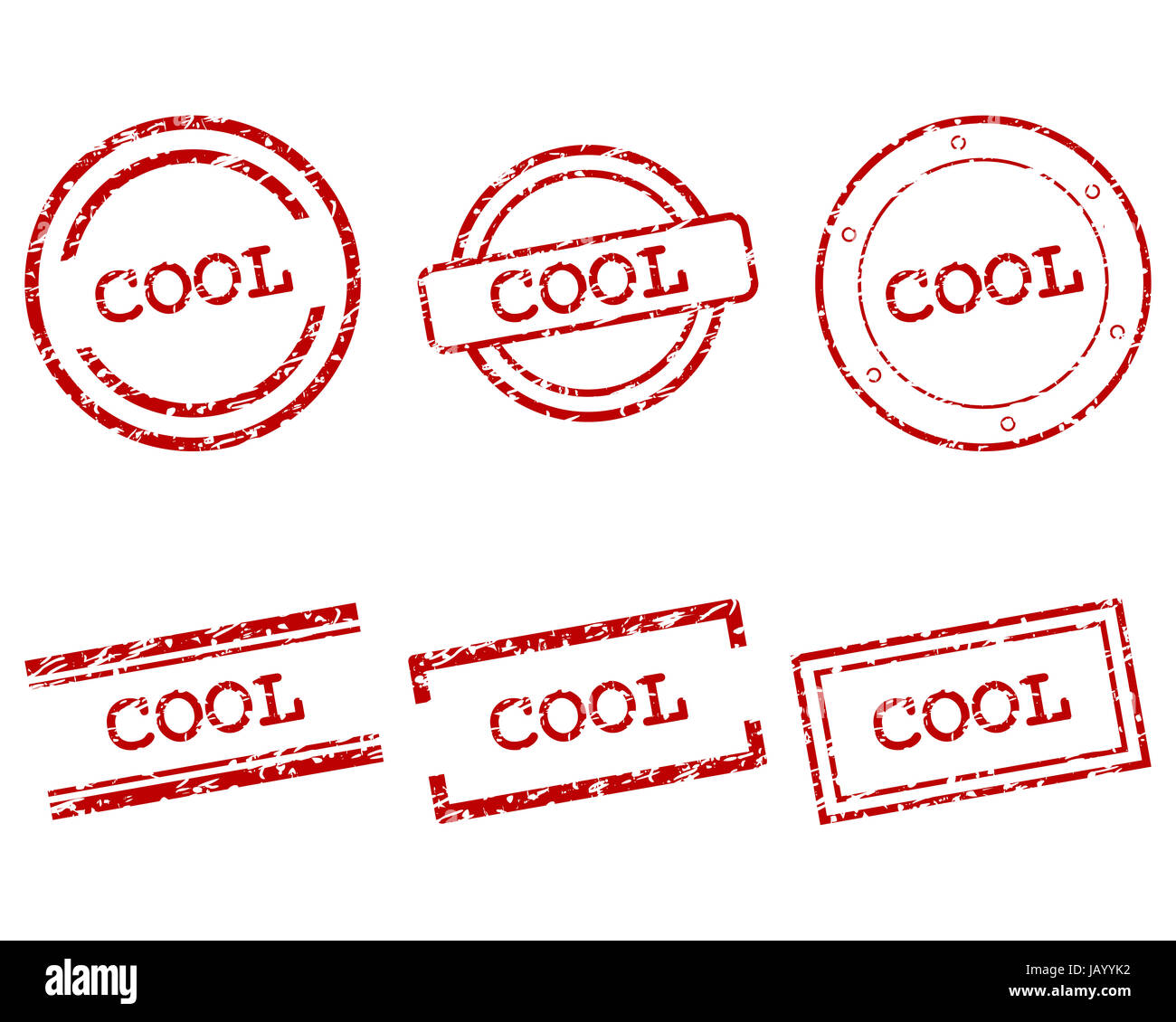 Cool Stempel - Stock Image