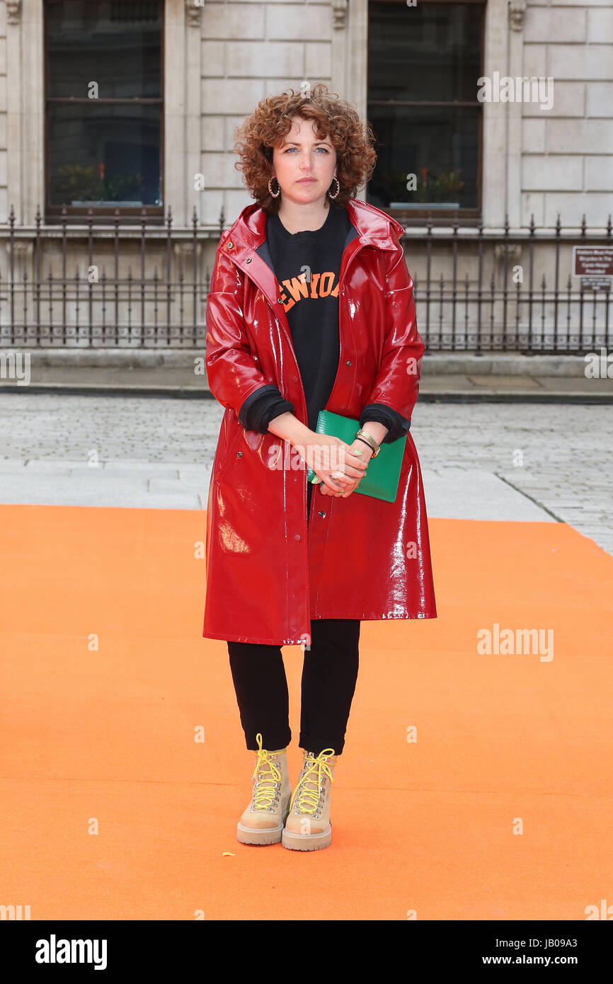 London, UK. 07th June, 2017. Annie Mac, Royal Academy of Arts Summer Exhibition Preview Party, Burlington House, - Stock Image