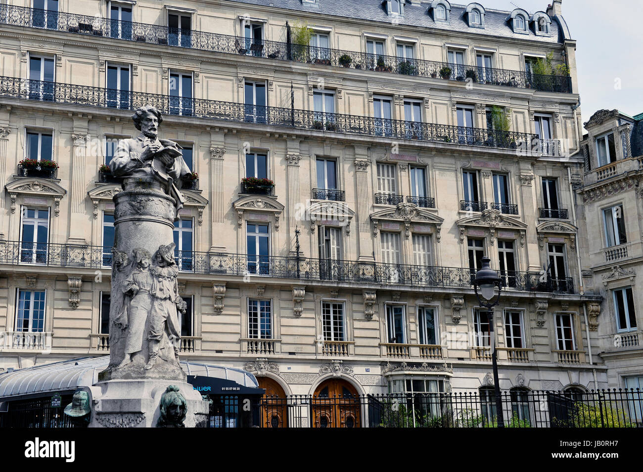 Paris 9th, France - Stock Image