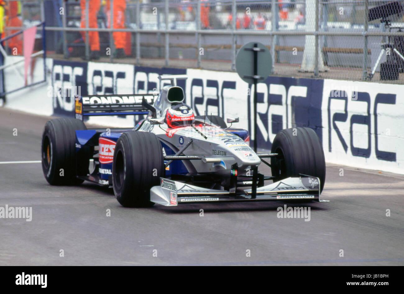 Minardi M198, S. Nakamo 1998 British Grand Prix - Stock Image