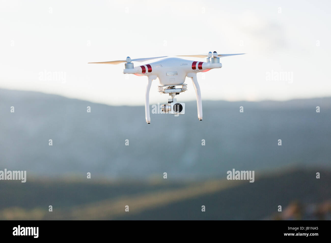 Stock Photo - Phantom Drone with camera attached Stock Photo