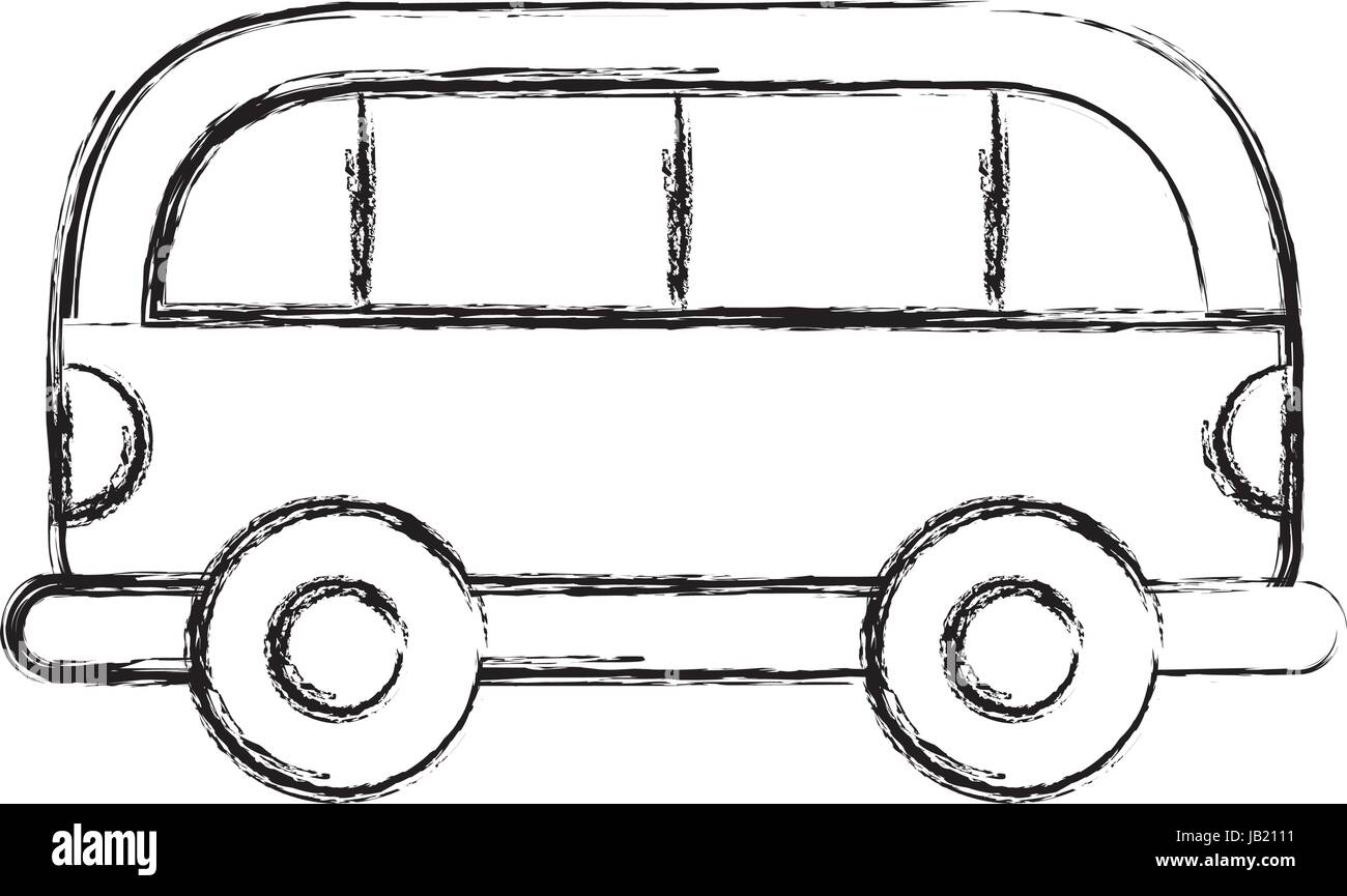 sketch draw car cartoon Stock Vector Art & Illustration, Vector ...