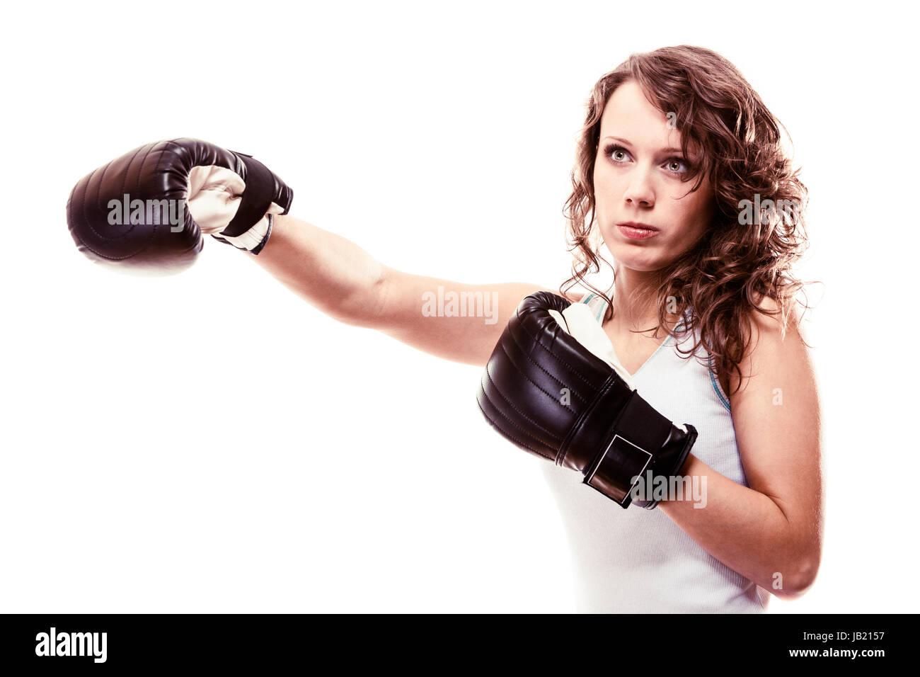 Female boxing domination