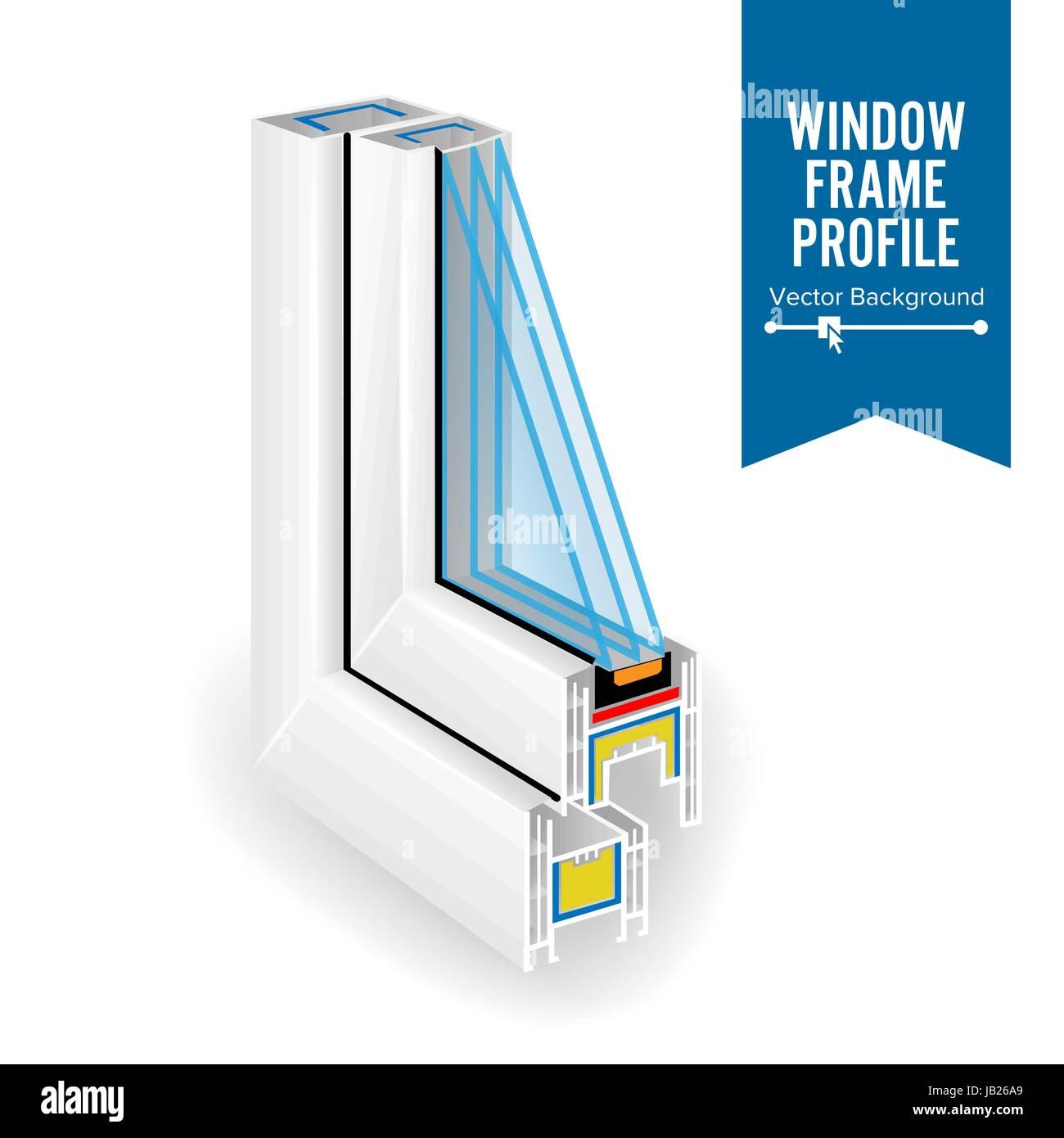 Energy-saving glass for plastic windows 86