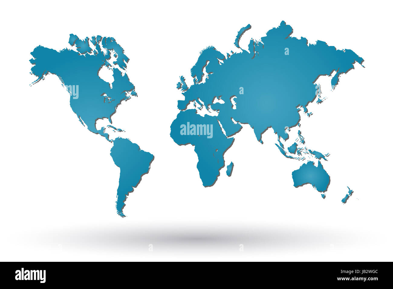 Europe Capitals Map Cut Out Stock Images & Pictures - Alamy